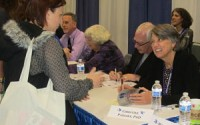 photo of Padesky at Book Signing